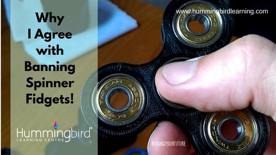 ban fidgets spinners
