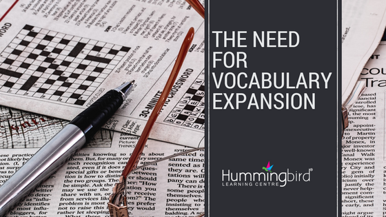 spelling, reading and meaning improve with vocabulary expansion