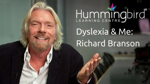 Dyslexia & Me- Richard Branson