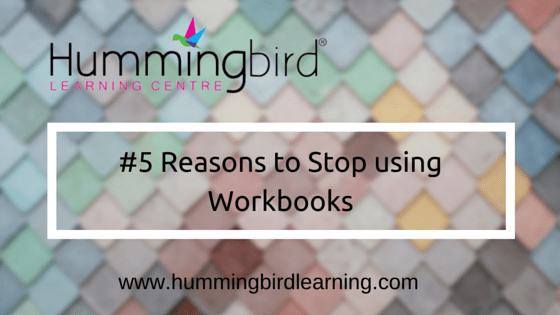 How workbooks inhibit learning