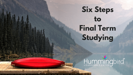 tips for studying coming up to major exams