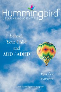 How to deal with school when your child has ADD / ADHD