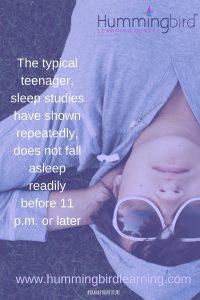 need help getting your teenager to sleep?