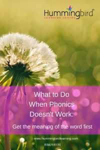 5 ways to help a reader or speller struggling with phonics
