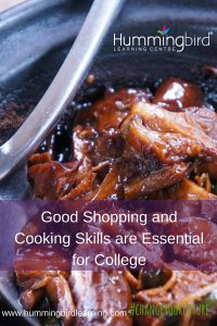 learn to cook for college