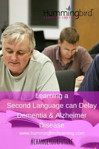 second language and alzheimer disease