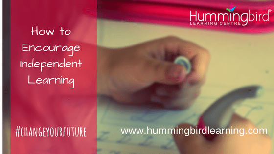learning independently with Hummingbird Learning Centre
