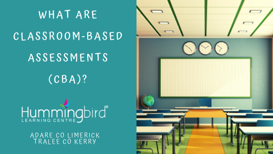 What are CBA classroom-based assessments