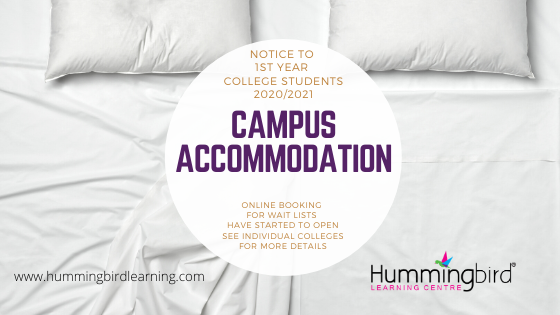 college accommodation dates