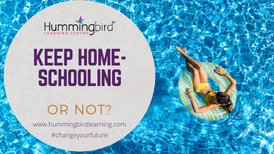 holidays home-schooling