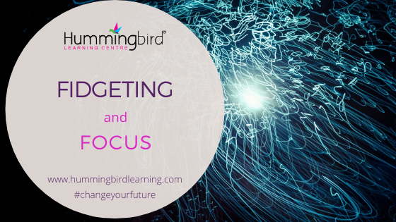 Fidgeting to focus