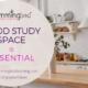 create a good study space
