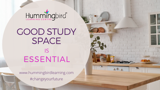 create a good study space