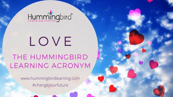 LOVE Hummingbird